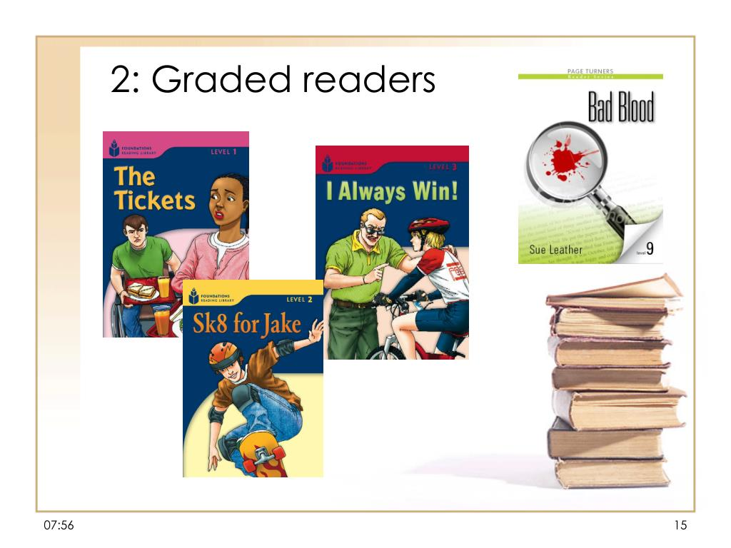 2: Graded readers