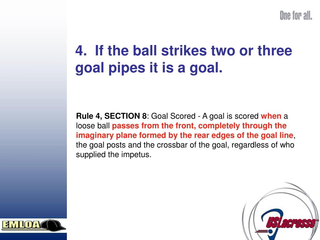 Rule 4, SECTION 8