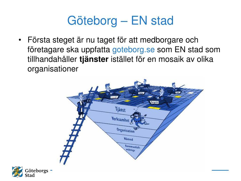 Göteborg – EN stad
