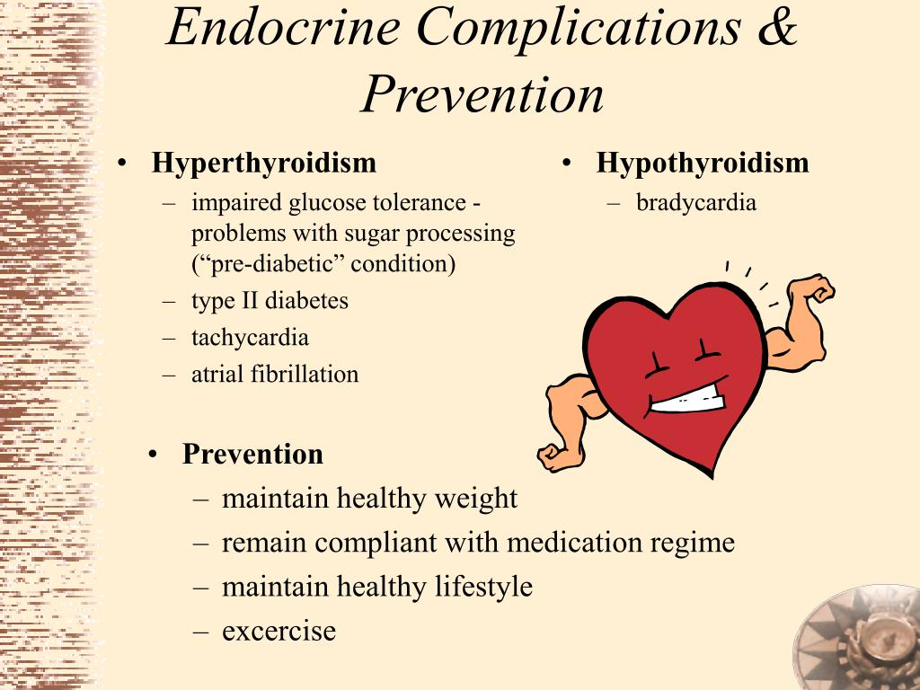 Endocrine Complications & Prevention