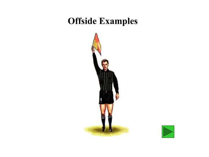 Offside Examples