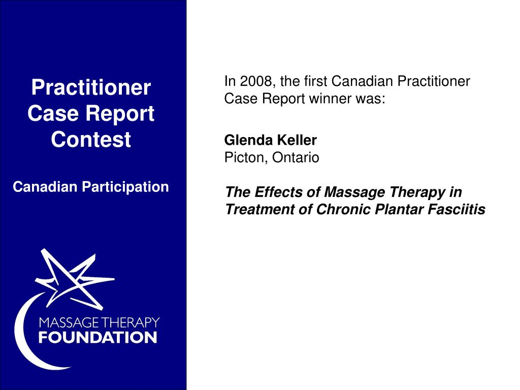 Practitioner Case Report Contest