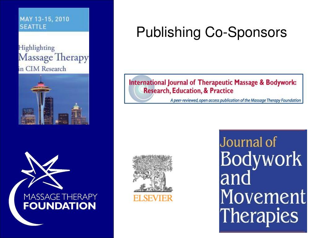 Publishing Co-Sponsors