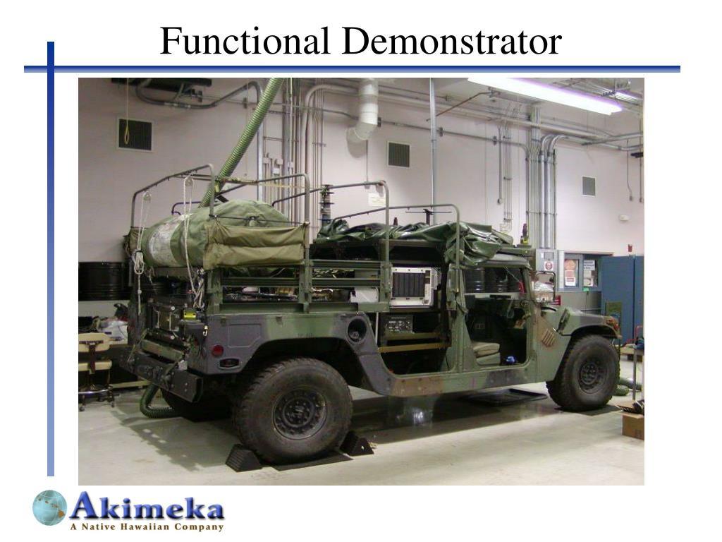 Functional Demonstrator