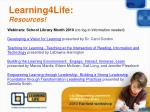 learning4life resources52