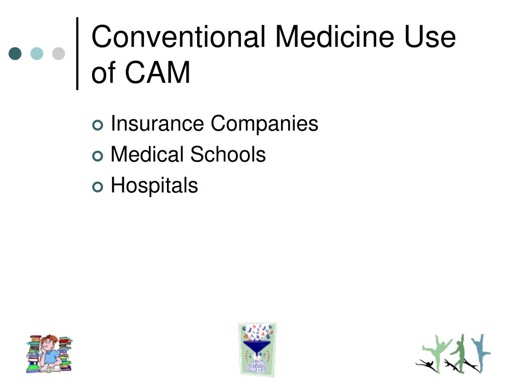 Conventional Medicine Use of CAM