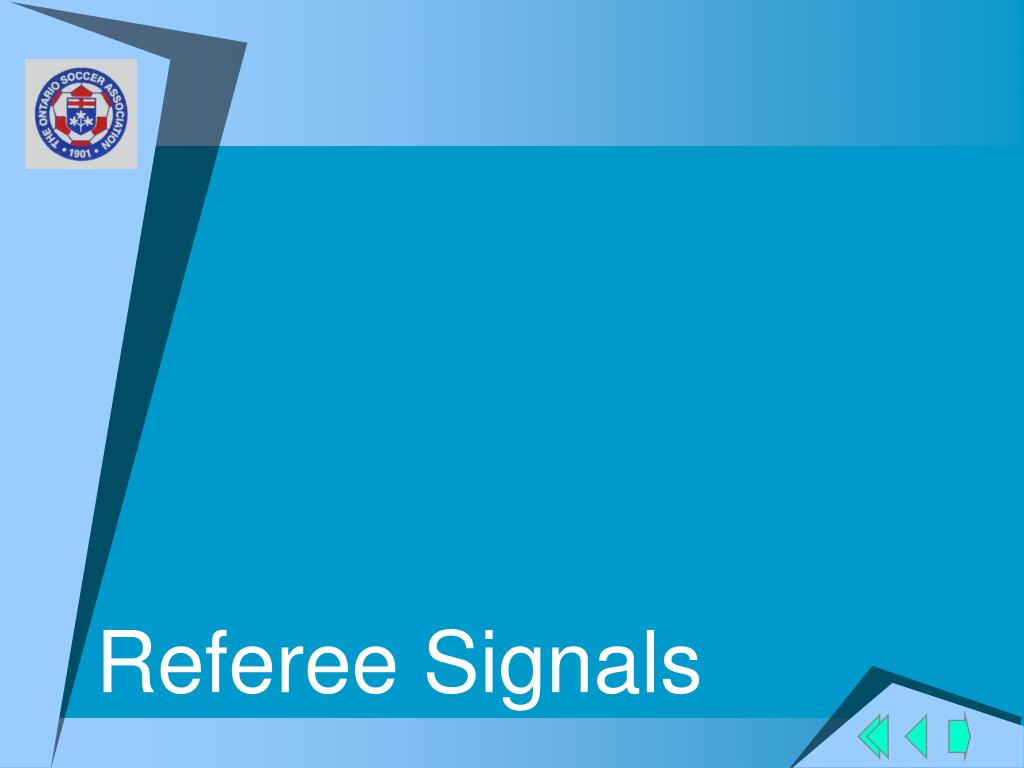 Referee Signals