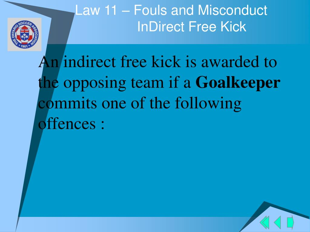 Law 11 – Fouls and Misconduct