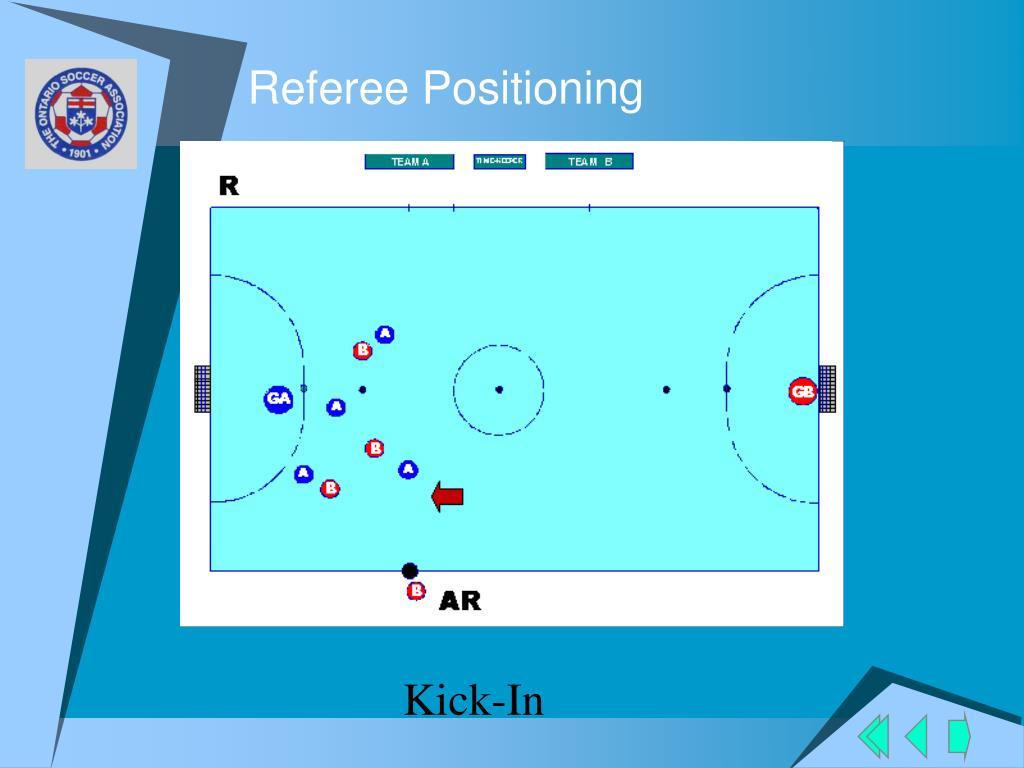 Referee Positioning