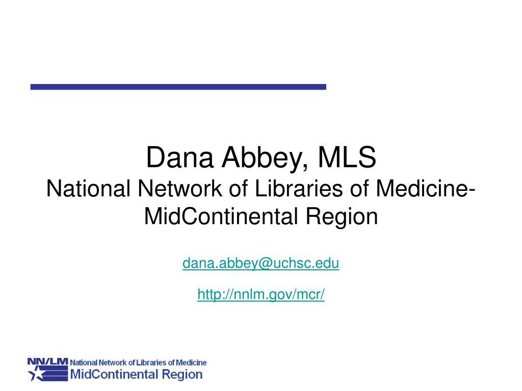 Dana Abbey, MLS