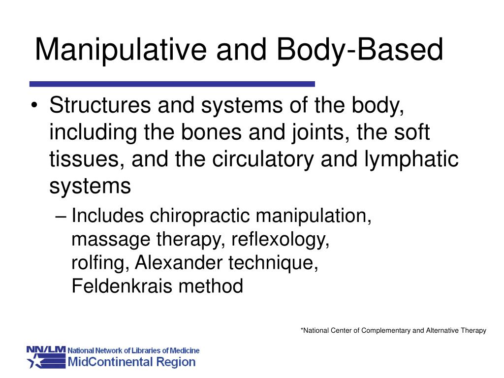 Manipulative and Body-Based