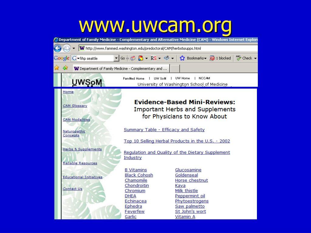 www.uwcam.org