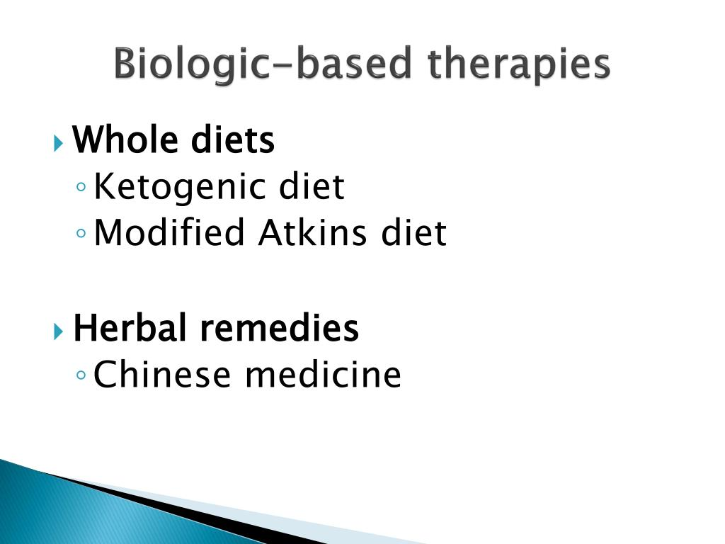 Biologic-based therapies