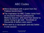 abc codes58