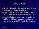 abc codes60
