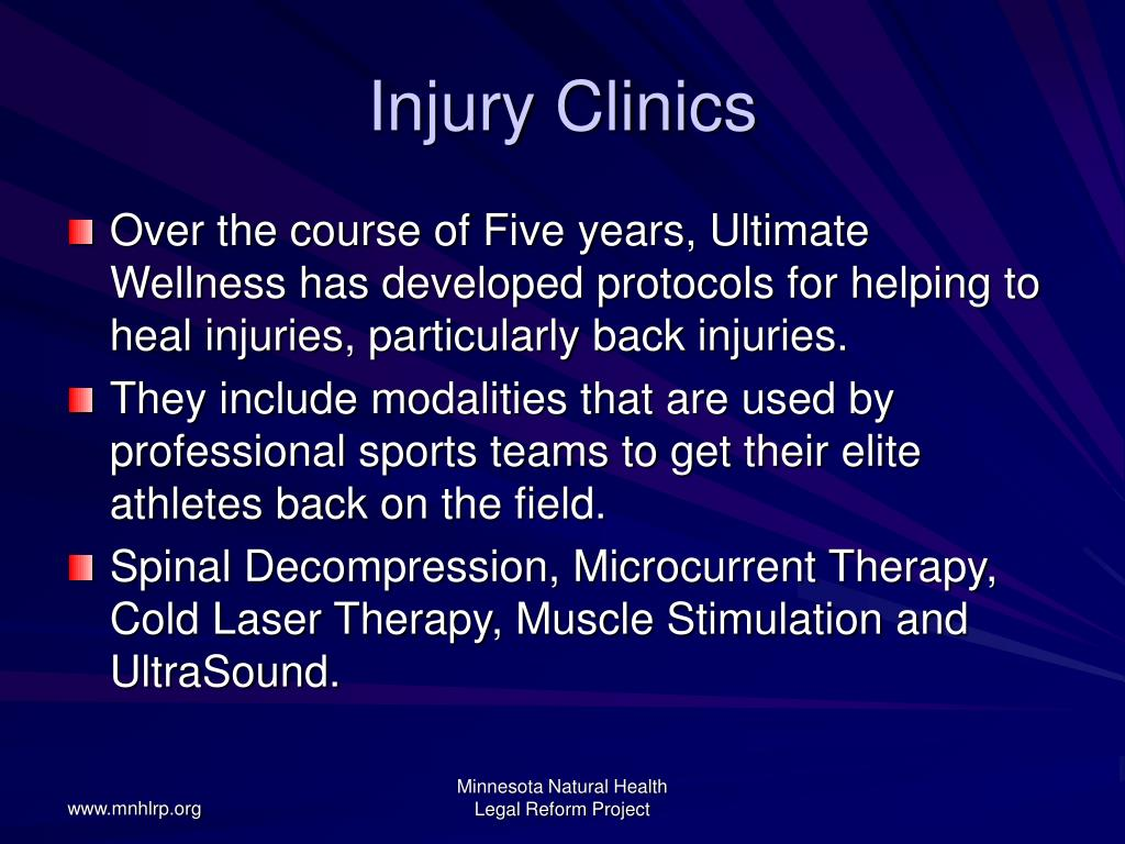 Injury Clinics