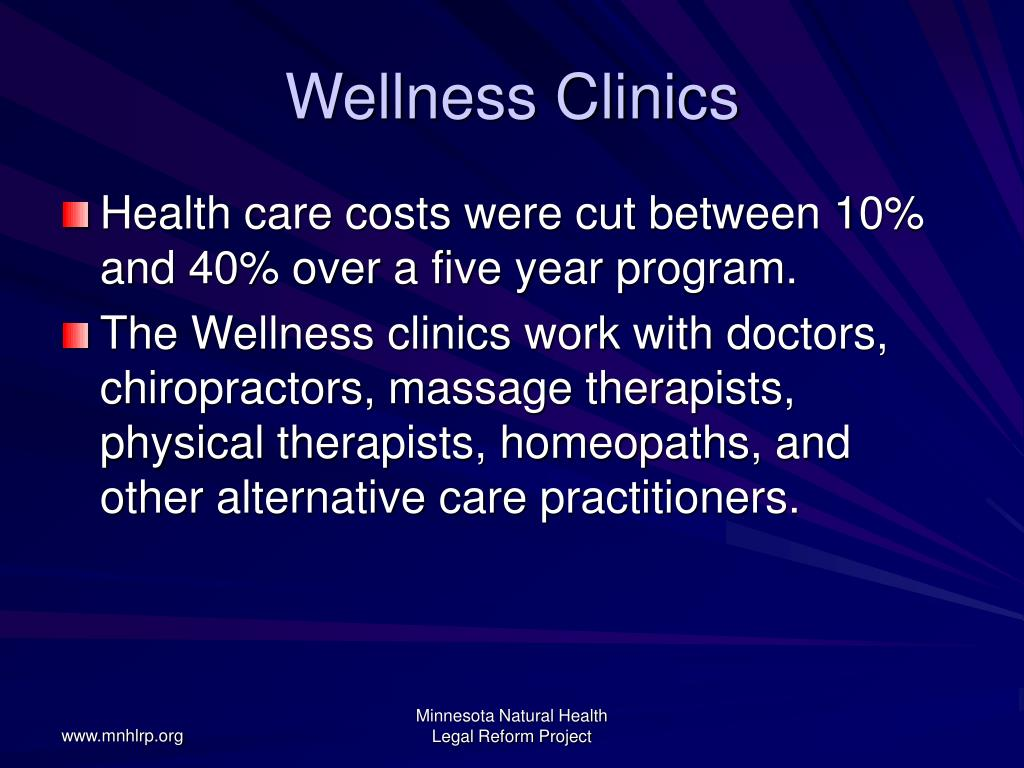 Wellness Clinics