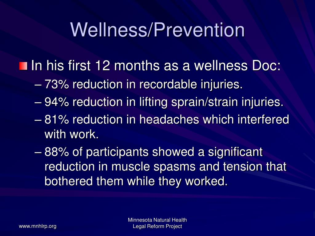Wellness/Prevention