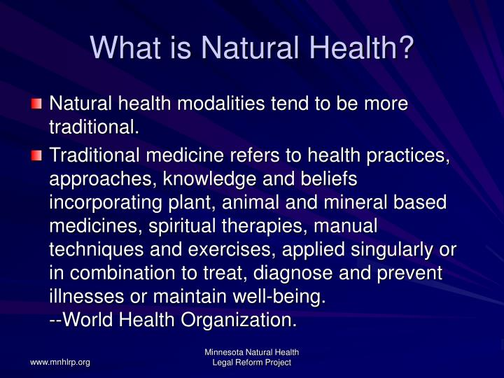 What is natural health3 l.jpg