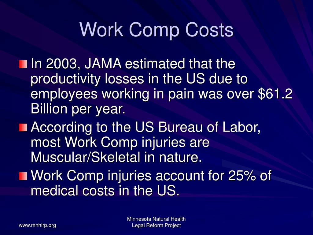 Work Comp Costs