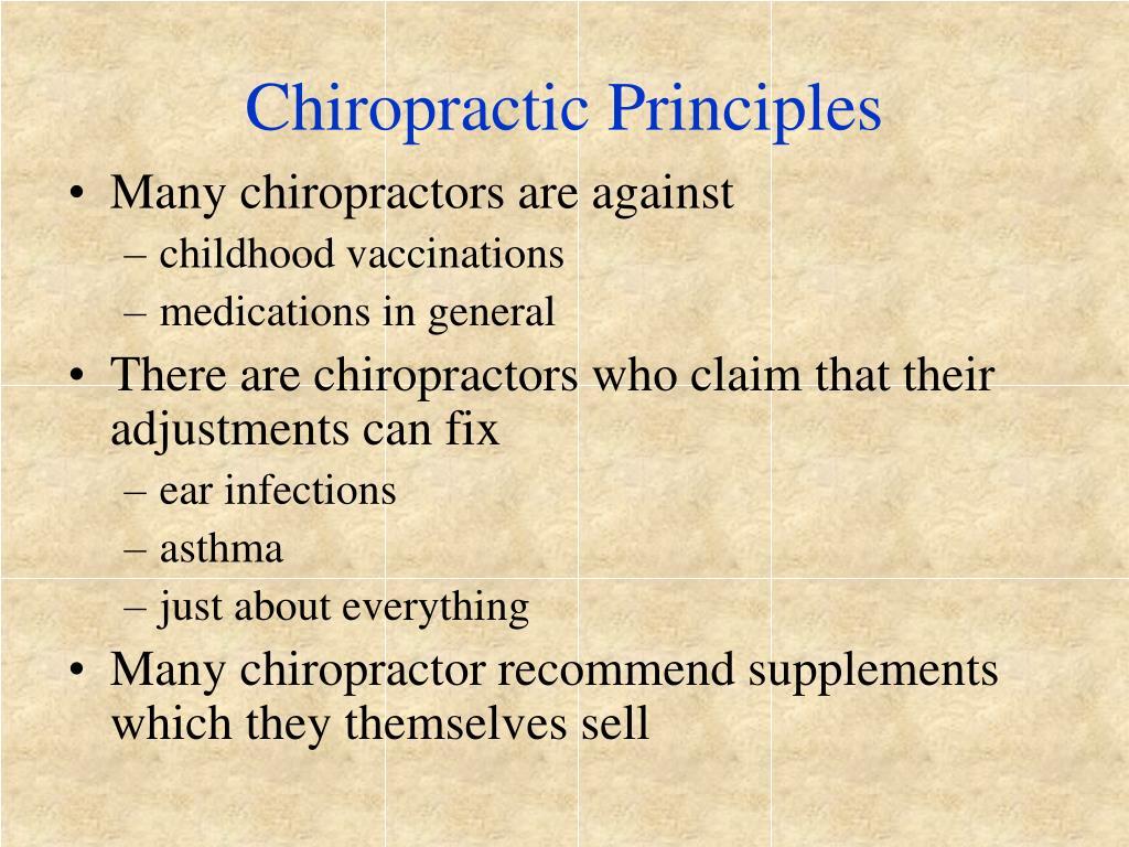 Chiropractic Principles