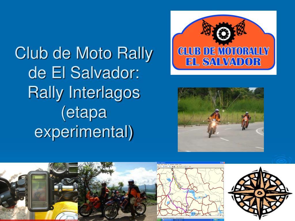Club de Moto Rally de El Salvador: