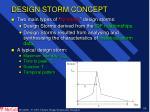 design storm concept50