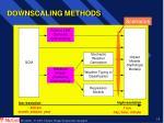 downscaling methods
