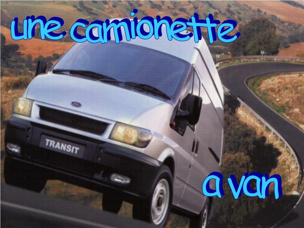 une camionette