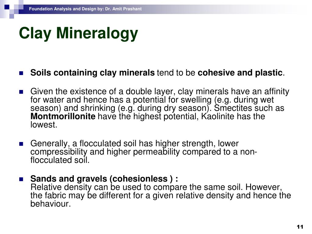 Clay Mineralogy
