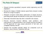 the role of simpact