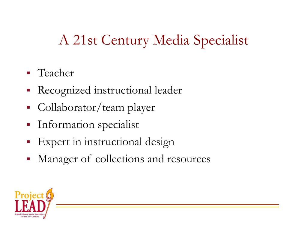 A 21st Century Media Specialist