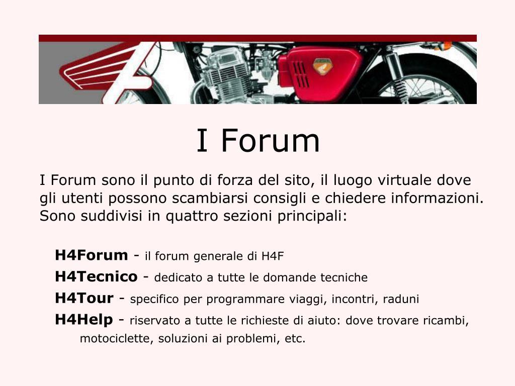 I Forum