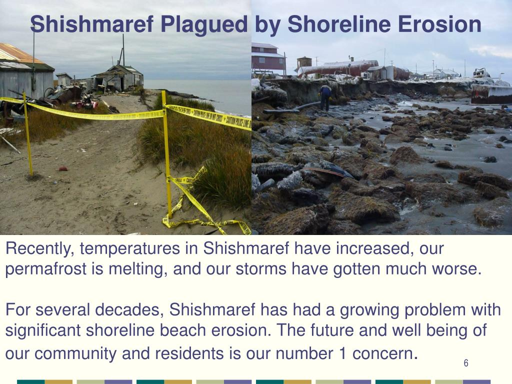 Shishmaref Plagued by Shoreline Erosion