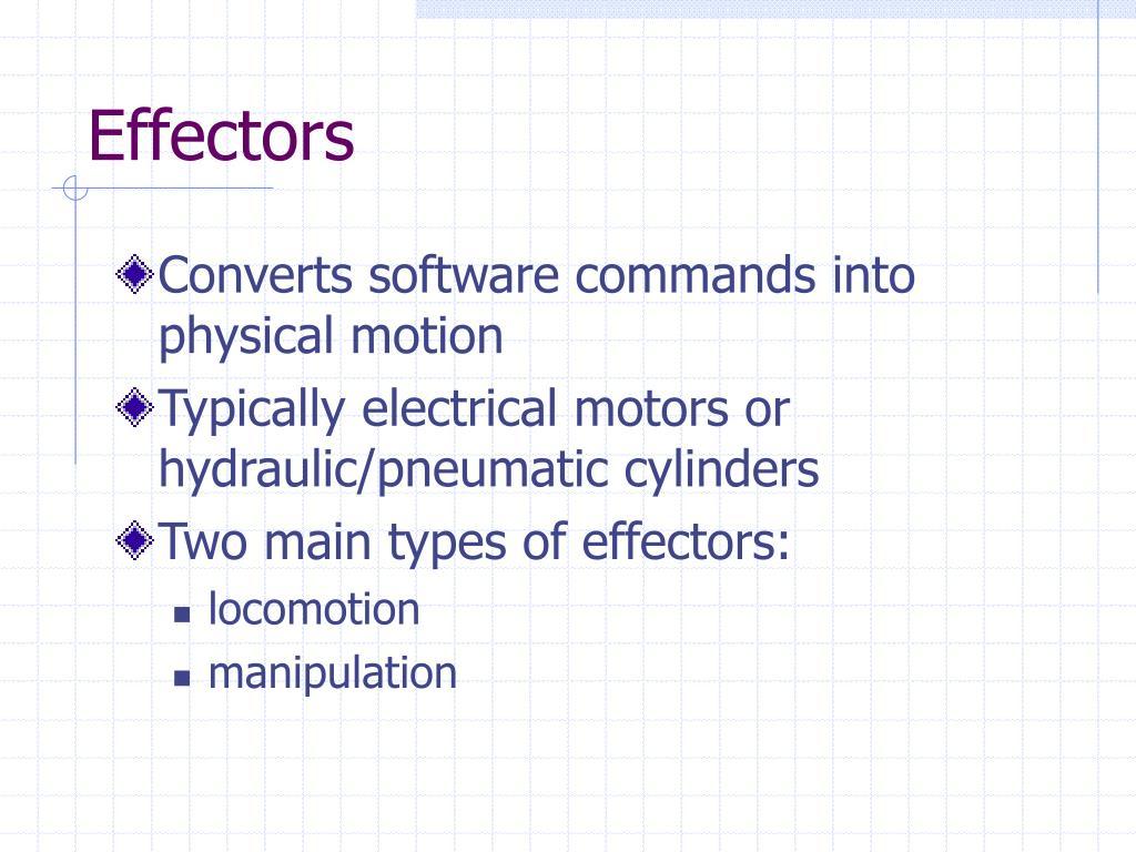 Effectors