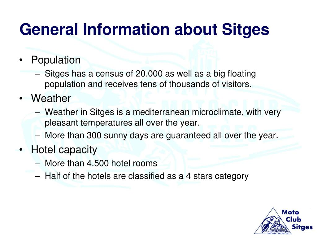 General Information about Sitges