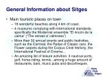 general information about sitges3