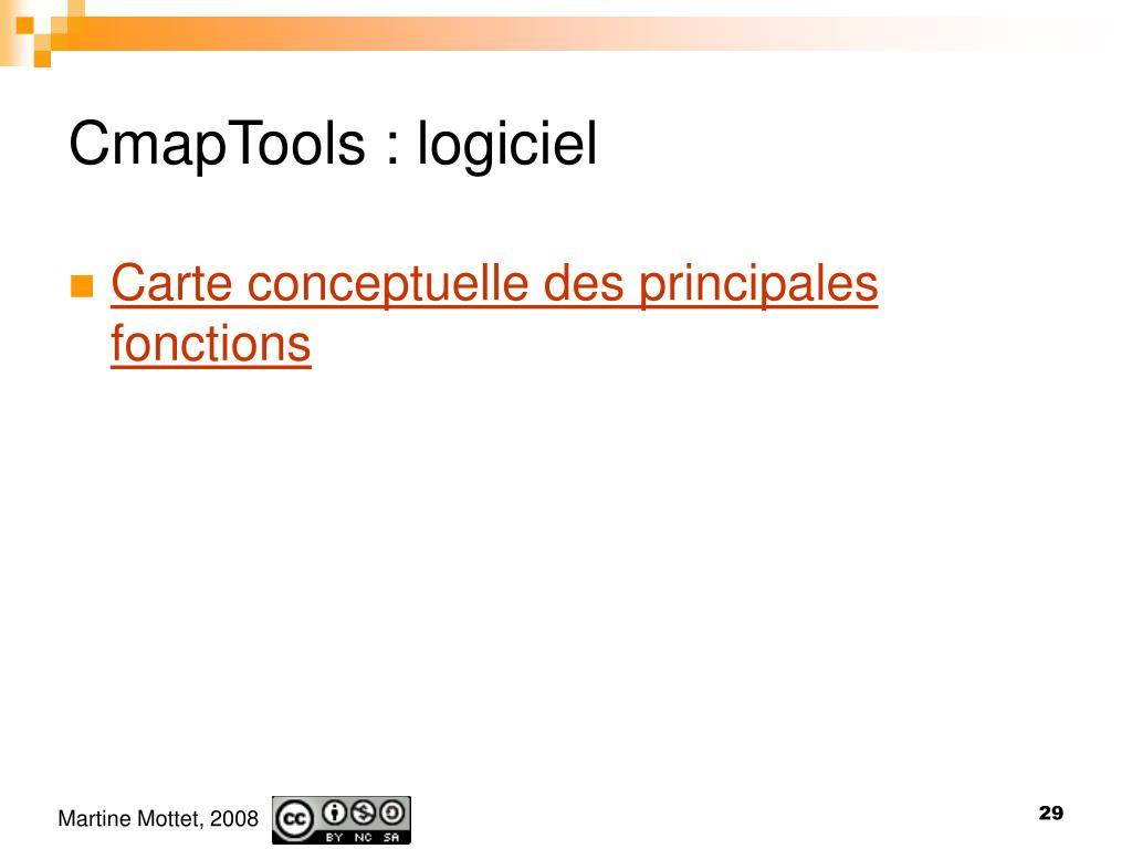 CmapTools : logiciel