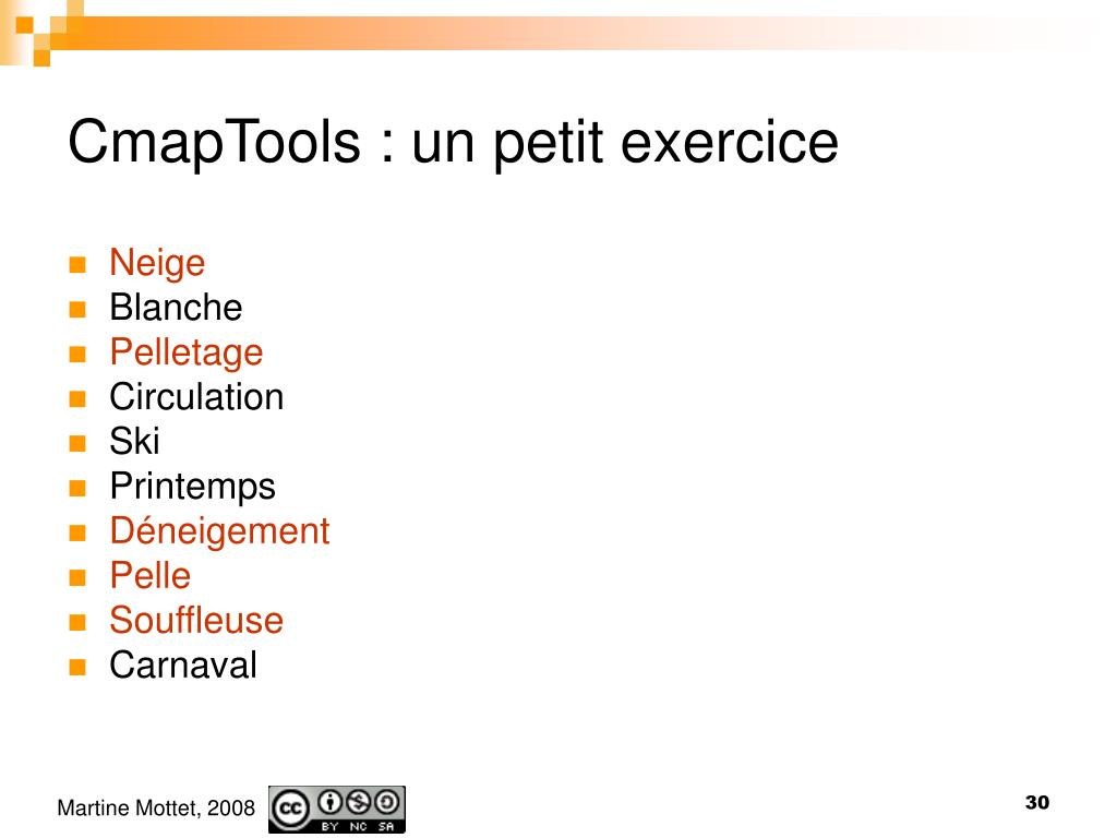 CmapTools : un petit exercice
