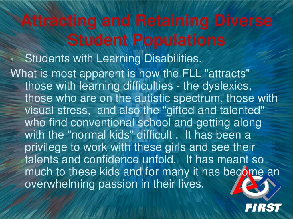 Students with Learning Disabilities.