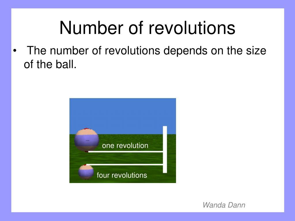 one revolution