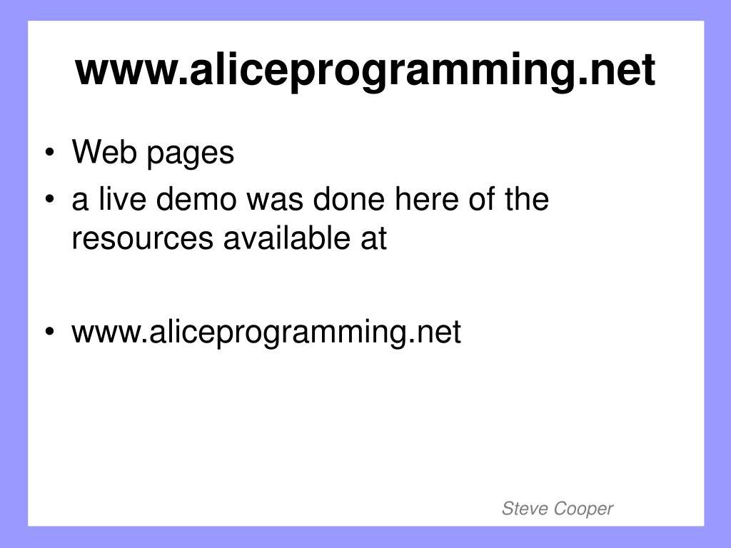 www.aliceprogramming.net