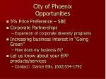 city of phoenix opportunities