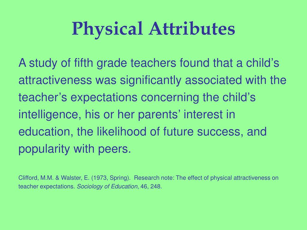 Physical Attributes