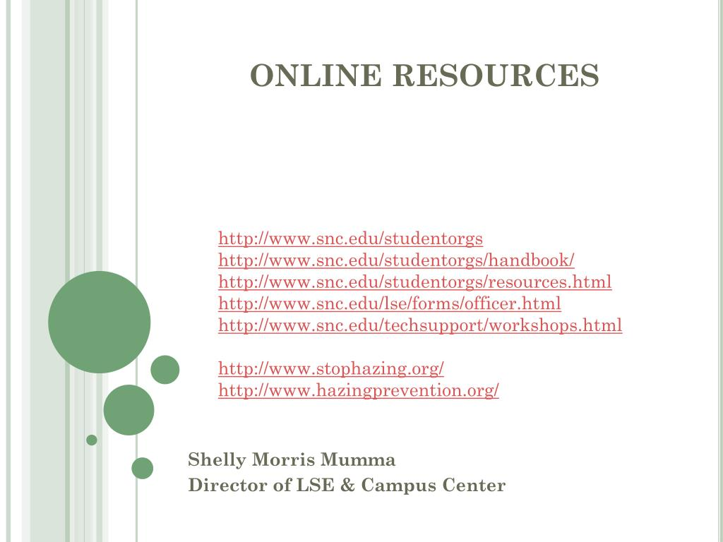 http://www.snc.edu/studentorgs