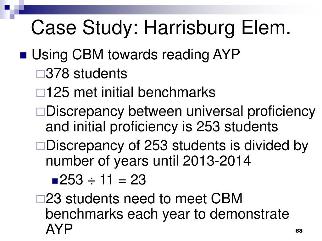 Case Study: Harrisburg Elem.