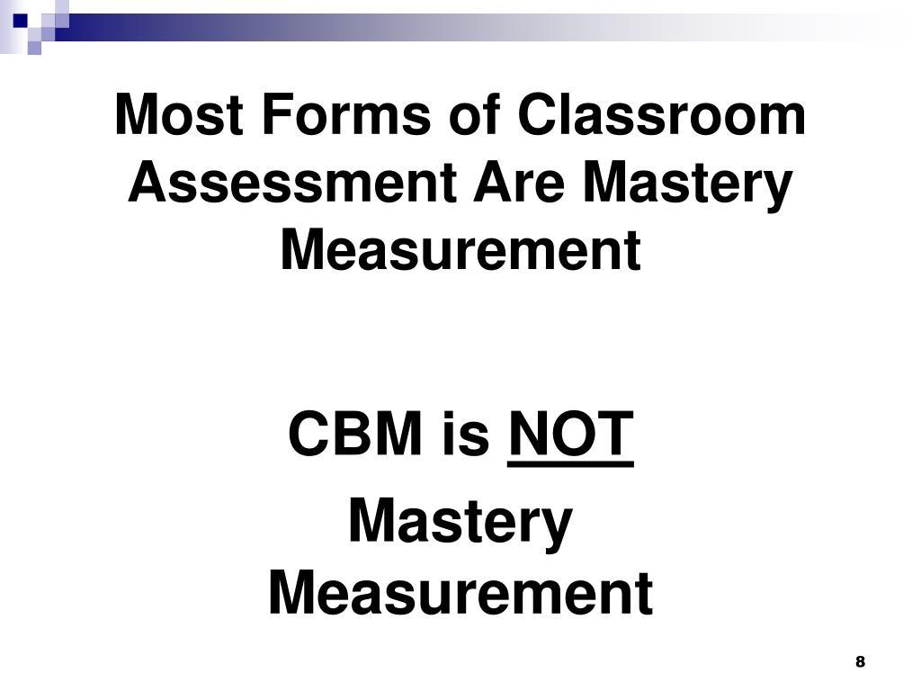 CBM is