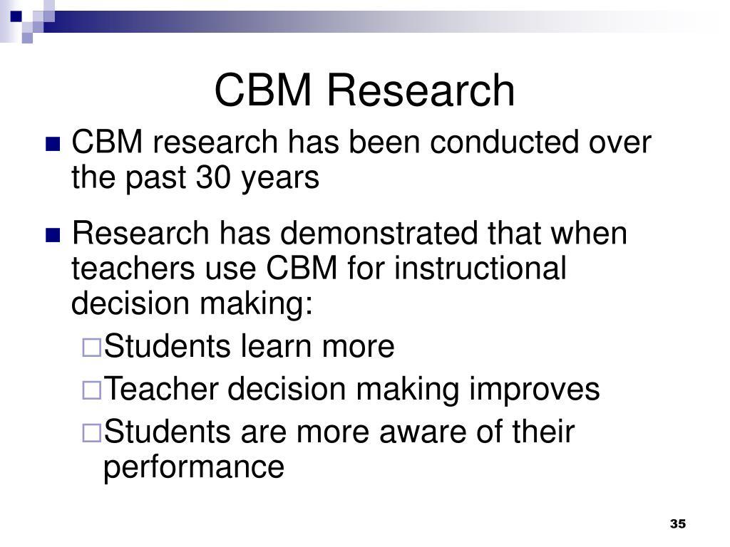 CBM Research