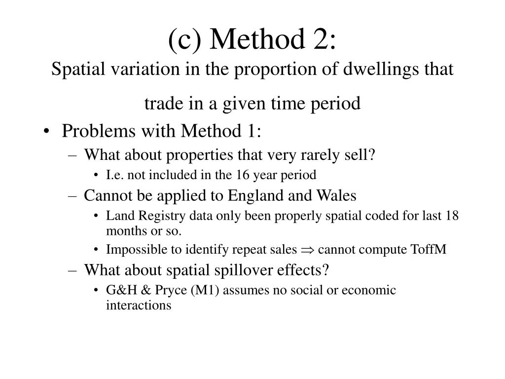(c) Method 2: