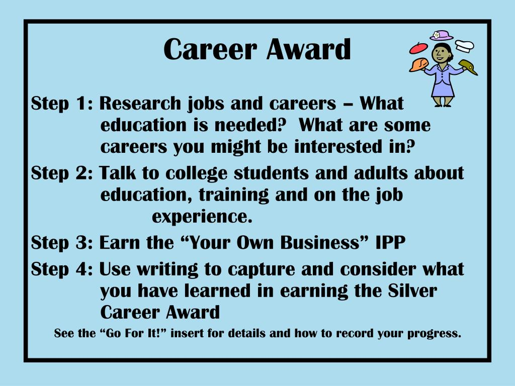 Career Award